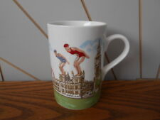 BE A GOOD SPORT, ceramic china mug London Olympics 2012 CATH KIDSTON Queens
