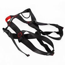 Climbing Harness Safety Belt Fall Protection Strap Adjustable with Buckle Belt k