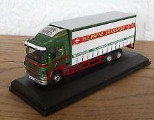 Oxford 1.76 Scale Scania 94D Curtainside H.E.Payne Transport Huntingdon
