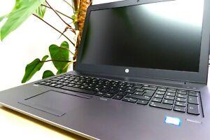 CAPTAIN NOTEBOOK: HP ZBOOK 15 G4, i7-7700HQ 64GB-RAM 2x256GB AMDPRO-WX415 3J.GAR