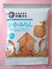 IKA MIRIN Japanese  Rice Crackers Squid & Shrimp with Mirin Made in Japan