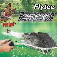 Flytec V005 RC Boat 2.4G Simulation-Crocodile Head Water Racing Electric Remote