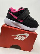 BABY GIRLS: Nike Tanjun Shoes, Hyper Pink - Size 2C 818386-061