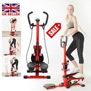 Home Stepper Machine  Leg Fitness Exercise Gym Aerobic Workout Stepping UK
