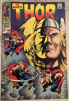 Thor #158 (Nov 1968, Marvel) Origin Retold! Classic Jack Kirby Cover!