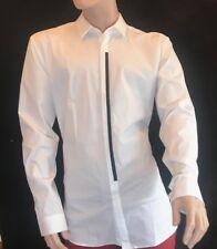 "BNWT HUGO BOSS Orange Label Extra Slim Fit Stretch Long Sleeve Shirt Neck 17"""