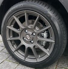 MSW 85 Alufelgen smart fortwo 453 Winterreifen Michelin 16 Zoll grau by OZ