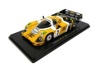 Porsche 956 #7 Winner Le Mans 1984 - 1:43 Spark Hachette Model Car 03