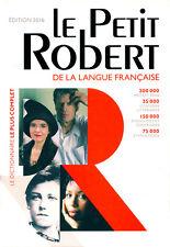 Le Petit Robert 2016 LANG FRANC 9782321006480