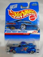 HOT WHEELS 1998 FIRST EDITION '40 FORD TRUCK BLUE #20 MATTEL MOSC
