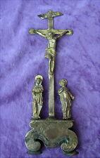 Alte kleine Kreuzigungsgruppe um 1680