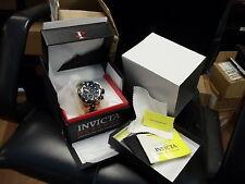 Invicta 5728 Mens Reserve Subaqua Venom Swiss 18KT Rose-Gold Black Dial SS Watch