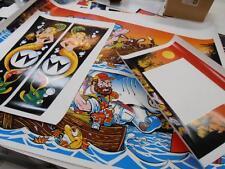 Fishtales Pinball FULL Cabinet Decal Set : Mr Pinball Worldwide distribution