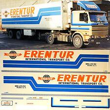 SCANIA erentur TRASPORTO Turchia (TR) 1:87 Camion decalcomania AUTOCARRO