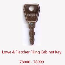 Lowe & fletcher remplacement classeur clé 78000 - 78999