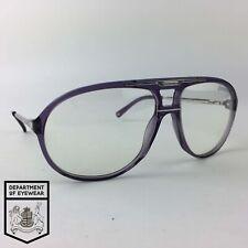 Carrera Gafas Translúcido Púrpura Redondo Marco De Gafas Mod: Master 1 VE499