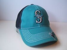 Seattle Mariners Jake Hat Northwest Green Navy Blue Hook Loop MLB Baseball Cap