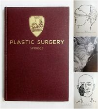 Antique 1934 CHAMPION RESTORATIVE ART EMBALMING Funeral Plastic Surgery Book