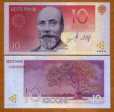 Estonia, 10 Krooni, 2007, P-NEW-86, UNC > Pre Euro