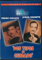 Dos Tipos De Cuidado Jorge Negrete Pedro Infante Dvd Nuevo