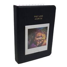64 Pocket Album for Fuji Fujifilm Instax Square Instant Photos - Black