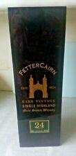 More details for lovely scottish scotch whisky bottle case / box- fettercairn 24 year old malt