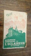 Almanach annuaire de l'éclaireur du Gatinais 1955