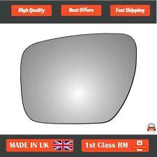 Right Driver Side O//S Convex Wing Door Mirror Glass for MAZDA 5 MPV 2005-2010