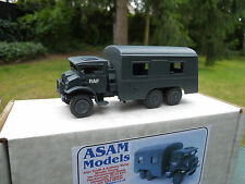 VEHICULE MILITAIRE ASAM MODELS REF HT 335 CMP 6X6  MINT IN BOX  AIRCREW BUS RAF