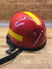 Vtg Safety Red Can't Read The Name Tree Rock Climbing Caving Helmet H B