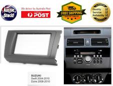Fascia facia Suzuki Swift 2004-2010 Double Two 2 DIN Dash Kit