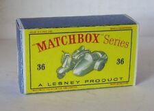 REPRO BOX MATCHBOX 1:75 n. 36 LAMBRETTA and sidecar NUOVI