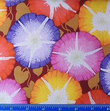 Free Spirit poco Azalea Lantana En Rojo-algodón tela floral por el 1//2 yarda