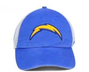 Brand New Los Angeles Chargers Deep Ball Mesh Closer Trucker Hat Cap 47 Brand