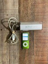 Apple IPod Nano A1285 4th Generation 8GB Green bundle ipod nano case usb charger