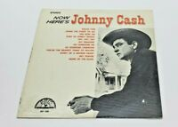 Now Here's Johnny Cash LP - 1961 Sun Records SLP 1255