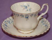 Royal Albert Memory Lane English Bone China Teacup & Saucer Duo