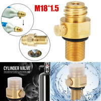 M18*1.5 Refill CO2 Valve Adapter Thread Converter Replacement For SodaStream