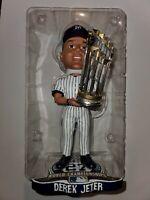 DEREK JETER New York Yankees Bobble Head 27X World Series Champs Trophy Edition*
