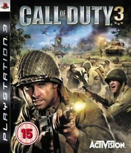 Call of Duty 3 Playstation 3 PS3 - Brand New - Free Shipping!