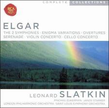 Elgar: The 2 Symphonies / Enigma Variations / Overtures / Serenade / Violin Conc