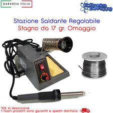 LAFAYETTE SSR-5 STAZIONE SALDANTE PROFESSIONALE CON TEMPERATURA REGOLABILE 100GR