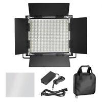 660 LED Metal Bi-Color Video Light for Studio with U Bracket and Barndoor