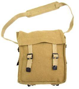 1937 Pattern Canvas Small Pack Bag Satchel Side Bag British Army Webbing 37 PAT