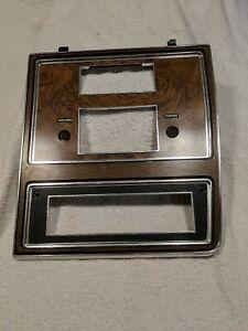 OEM 1977 Mercury Grand Marquis radio bezel woodgrain FORD 1976 1978 1979