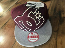 DC shoes snapback CASQUETTE NEW ERA  double up Cap Noir Capuchon Casquette 9Fifi