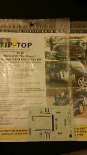 DECALS 1/32 REF 38 RENAULT MEGANE MAXI KIT CAR DE MEYER RALLYE CRITERIUM 83 1997