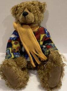 """Signed Barbara Sixby Zucker Bears Nordic #2 Of 15 1999 Yes No 18"""" Jointed OOAK"""