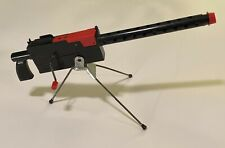 Vintage Mattel-O-Matic Cap Firing Air Cooled Machine Gun