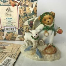 Cherished Teddies Touches Of Heaven Can Be Found On Earth Angel Lamb Stella 2000